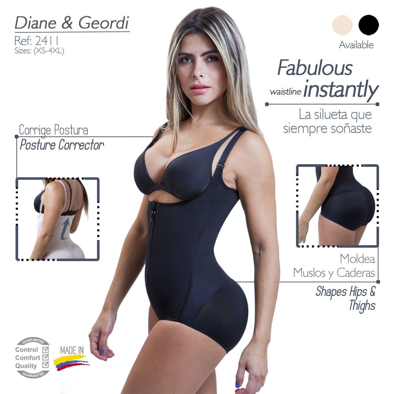 Diane /& Geordi Women/'s Fajas Colombianas Post Surgery Tummy Tuck Girdle Shaper