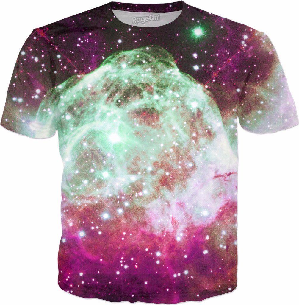 Thor's Peaceful Helmet Nebula | Fractal Universe