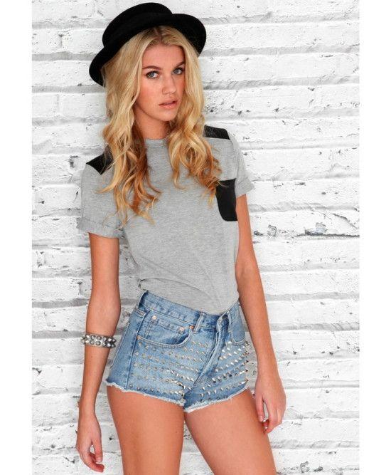 Shop Denim Shorts for Women @Birlings #Denim #Women #Fashion ...
