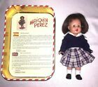 Mariquita Perez 8 Spanish Doll Dressed Metal Collectors Tin Spain School  #Doll #spanishdolls