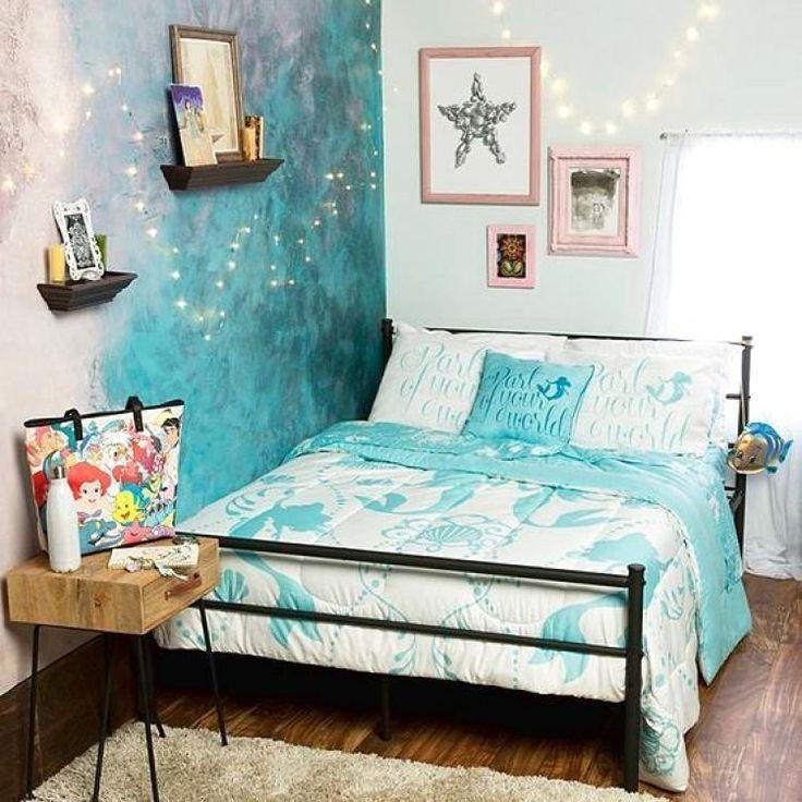 Beautiful Mermaid Bedroom Ideas for Girls | Mermaid ...