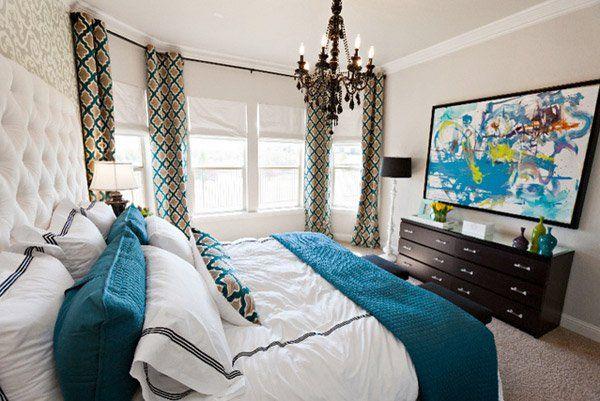 15 belles chambres marron et turquoise | Chambre | Pinterest ...