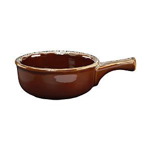 Crock-Bowl with Handle, Crate and Barrel