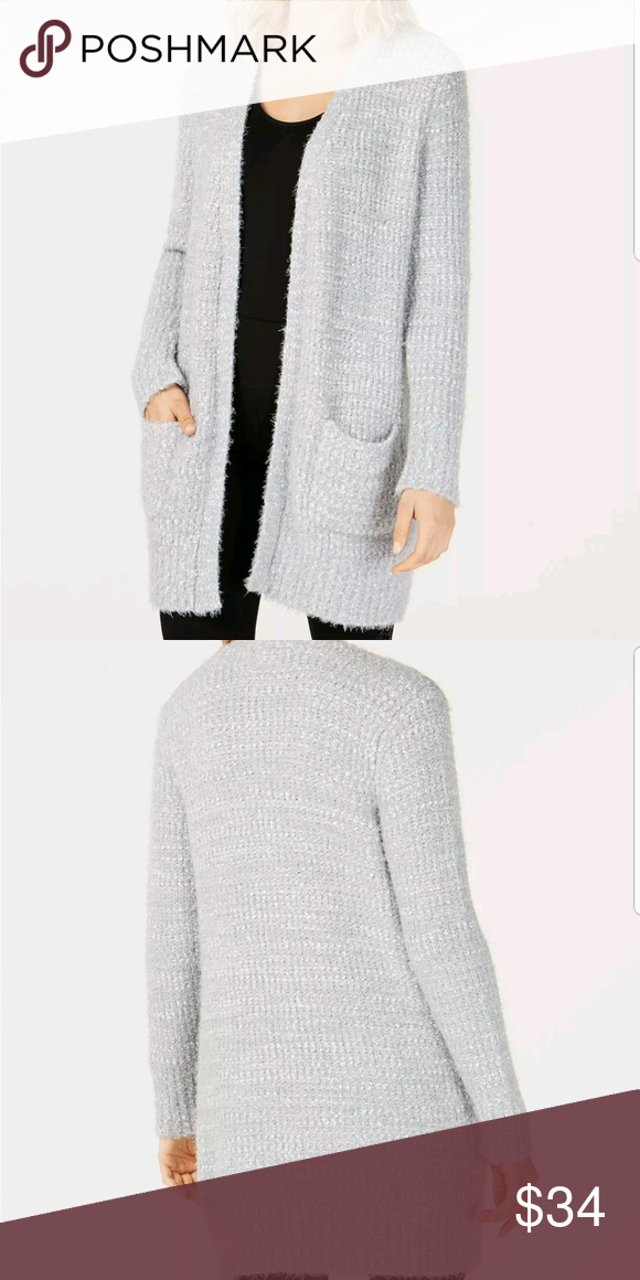 02f65d97b52 INC INTERNATIONAL CONCEPTS NWT cardigan sweater L Cozy up in style ...