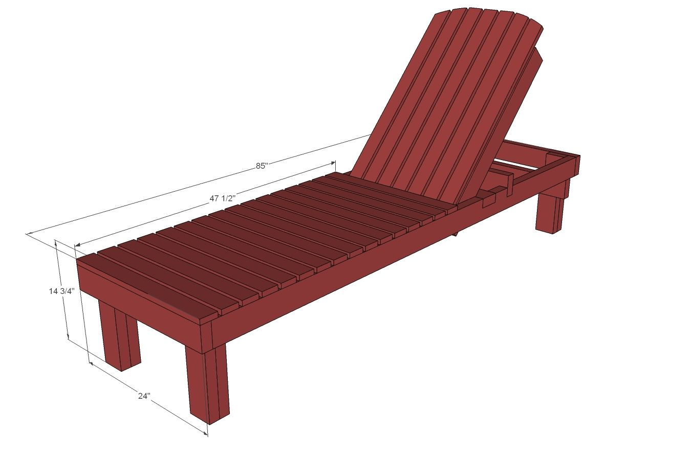 wood chaise lounge. She Builds Everything From Scratch - See The Build Plans For $35 Wood Chaise Lounges Lounge O