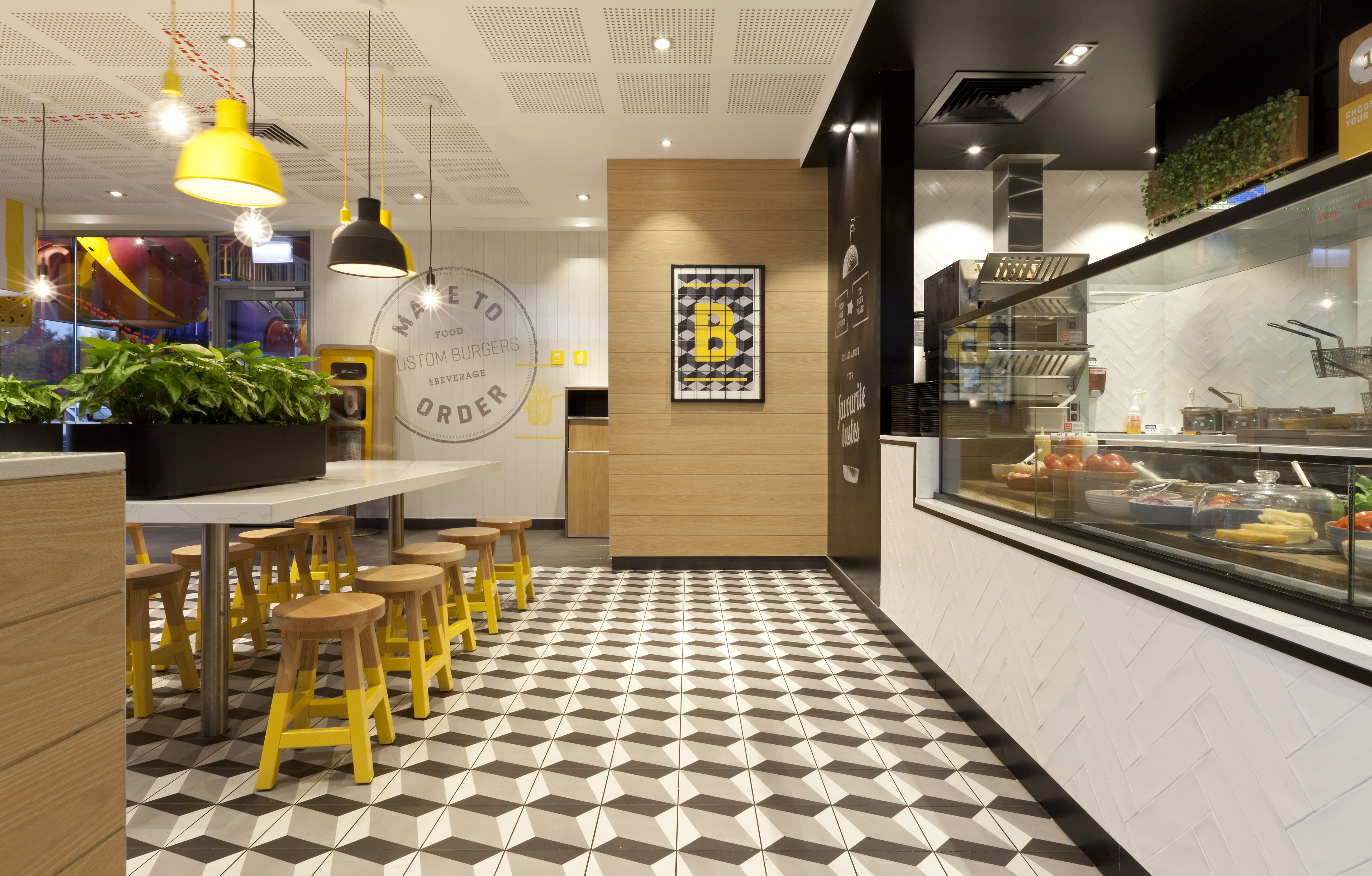 The new-look McDonalds restaurant at Thornleigh, NSW is the first of ...