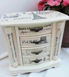 Reciclando muebles viejos con decoupage reciclar for Reciclar muebles viejos