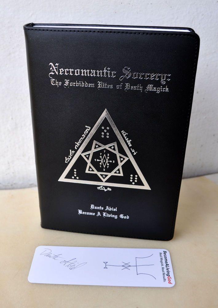Necromantic Sorcery Dante Abiel E A Koetting DELUXE Leather