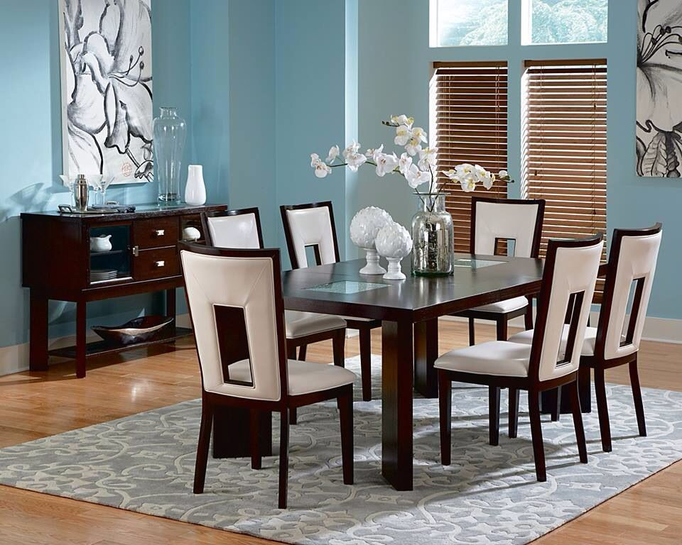 Pin By Berrios On For The Dining Room Para El Comedor Modern Dining Room Dining Room Sets Dining Room Design