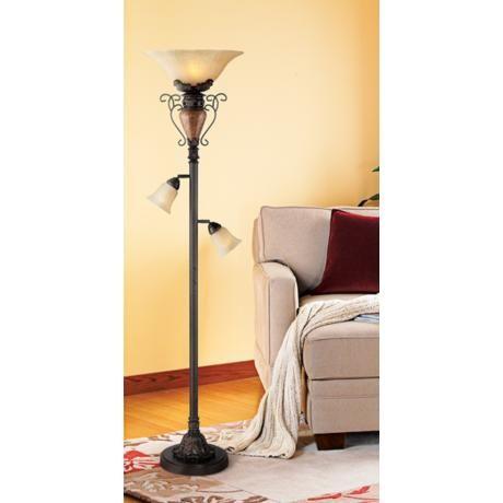 Bronze Crackle 72 Quot High Tree Torchiere Floor Lamp U0565 Lamps Plus Torchiere Floor Lamp