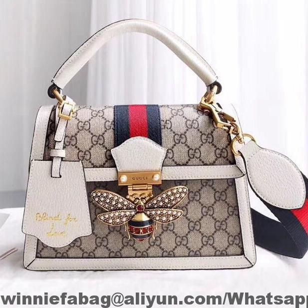 860b4a652976 Gucci Queen Margaret GG Small Top Handle Bag 476541 2018