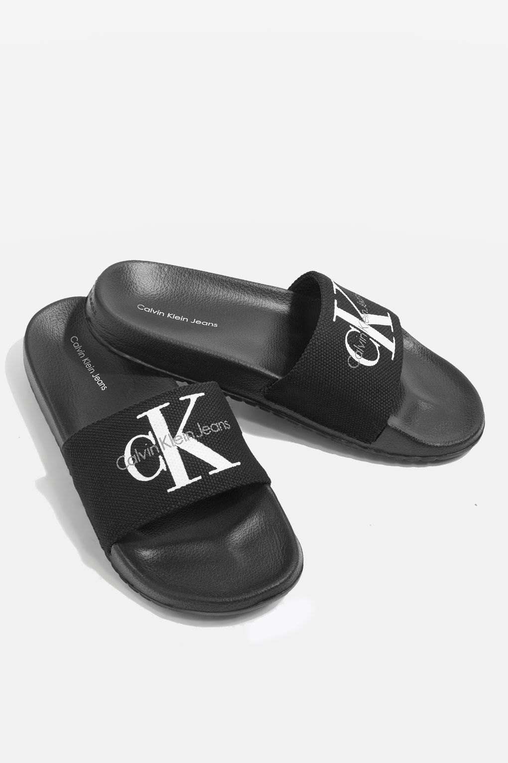 Jean Sliders by Calvin Klein - Shoes- Topshop 8244fc6ac0