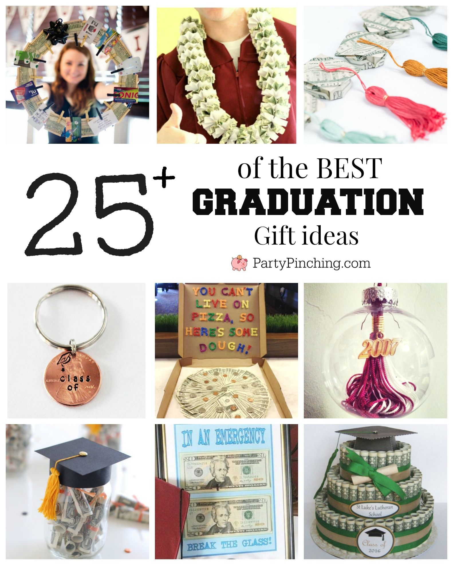 Best Graduation Gift Ideas Fun And Easy Diy Graduation Grad Gifts