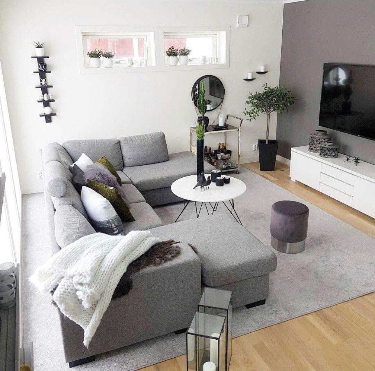 Pin by Giannotti on SALON  Living room grey, Living room decor