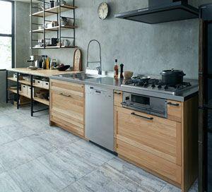 Su Iji スイージー システムキッチン Woodone システムキッチン 造作キッチン キッチンキャビネット