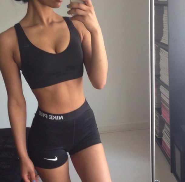 Where to get this black sport wear? #fitness #aesthetic