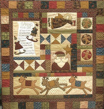 Santa's Helpers - by The Birdhouse - Quilt Pattern | quilt ideas ... : birdhouse quilts - Adamdwight.com