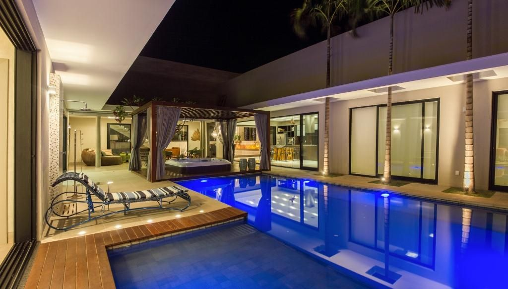 Outdoorküche Holz Joinville : Projetos de arquitetura casa moderna