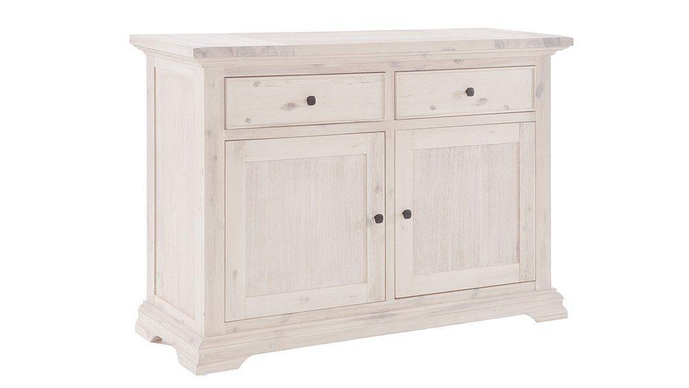 Sideboard im Landhausstil in Weiß #Cottage style