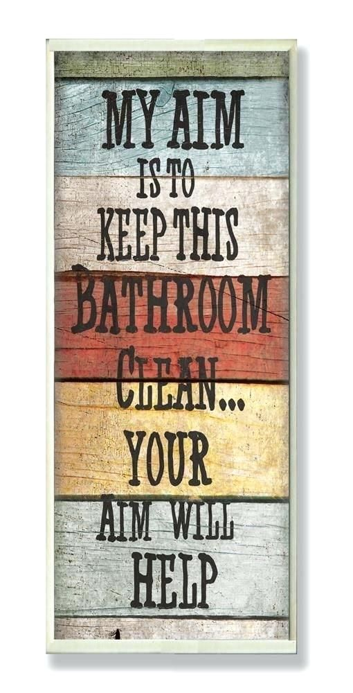Cute Bathroom Signs Hilarious Signs To Hang In Your
