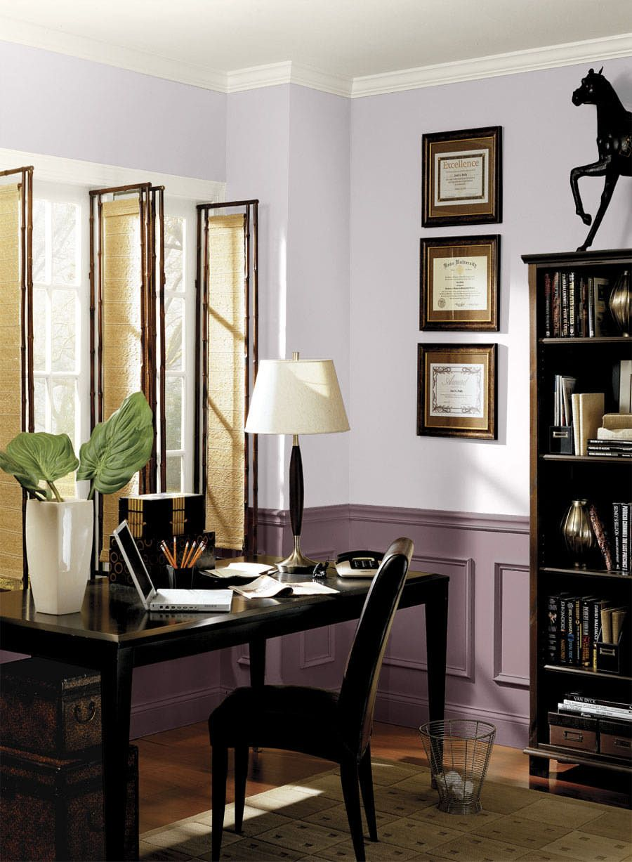 23 inspirational purple interior designs purple home on home office paint color ideas id=61871