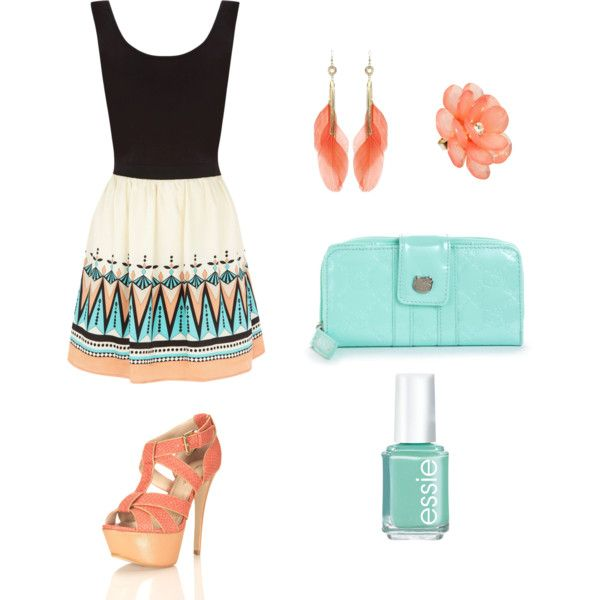 aqua and coral. definetly in this summer (:
