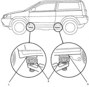 Honda Hrv 1999 Service Manual