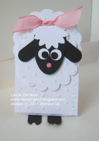 Big Shot Lamb Nugget Holder by imamuttnut - Cards and Paper Crafts at Splitcoaststampers