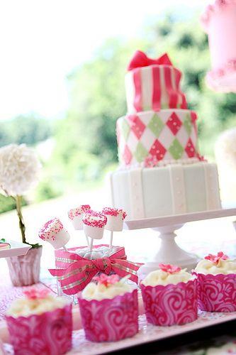 preppy dessert table cakes cakes more cakes pinterest rh pinterest com