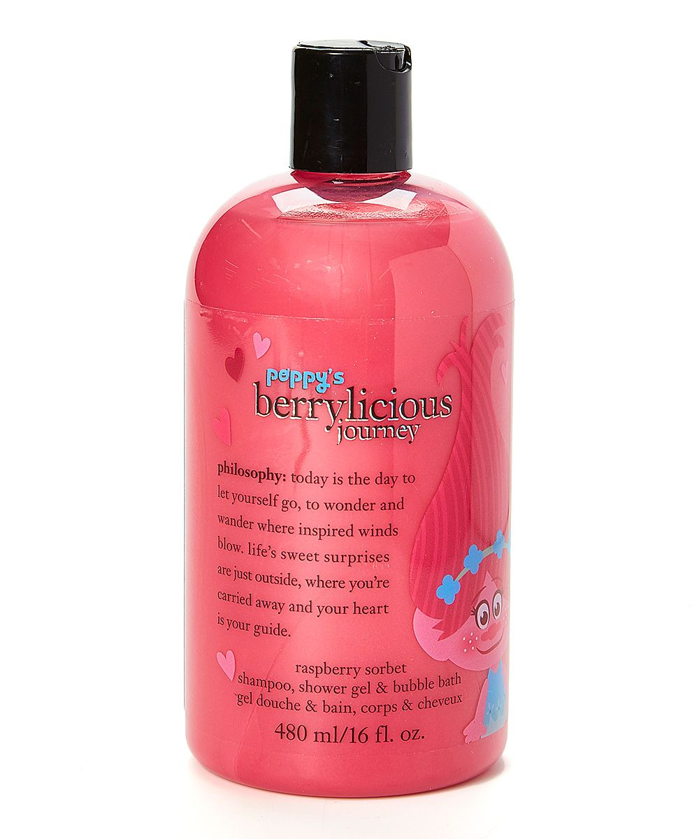 Berrylicious Journey 16 Oz 3 In 1 Shampoo Shower Gel Bubble