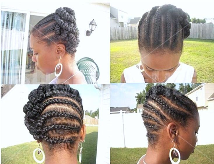 African American Natural Hairstyles Updos
