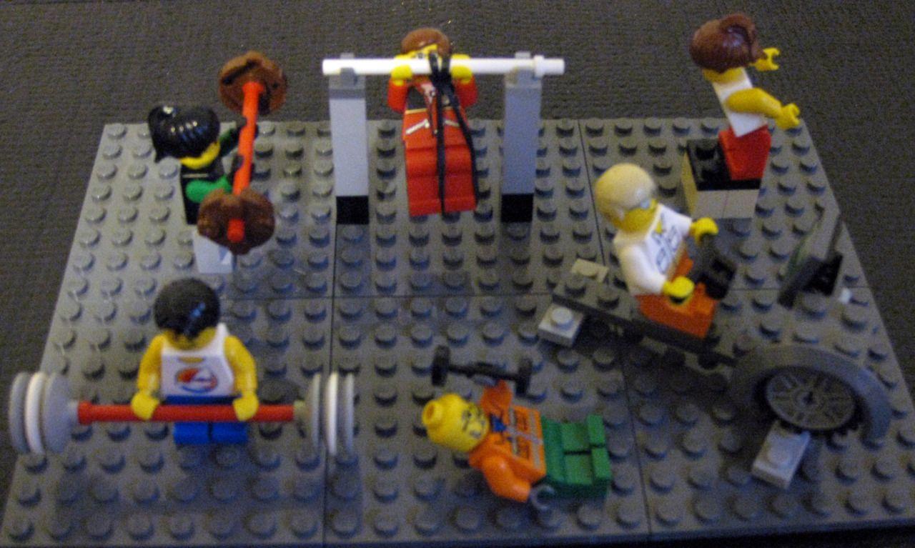 Lego crossfit!