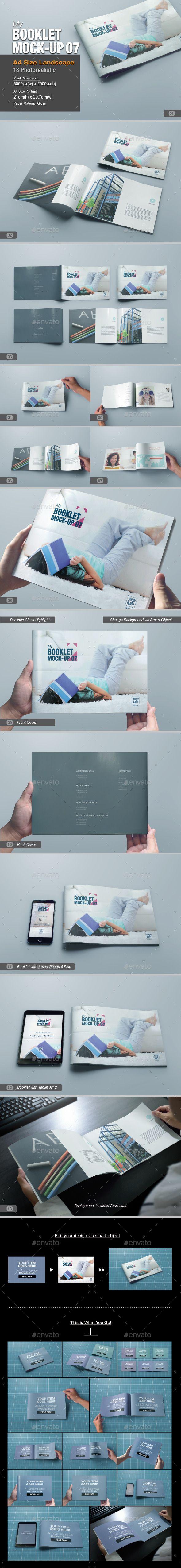 myBooklet Mock-up 07 | Diseño editorial y Editorial