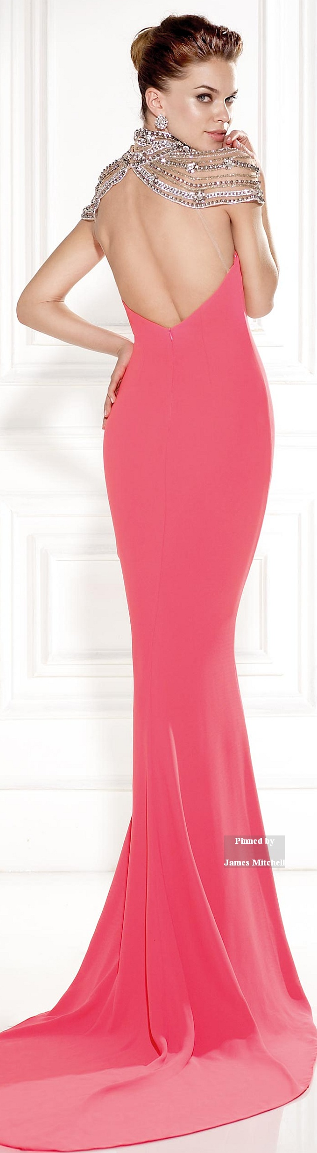 Tarik Ediz Collection 2015 | Vestido coctel | Pinterest | Gowns ...