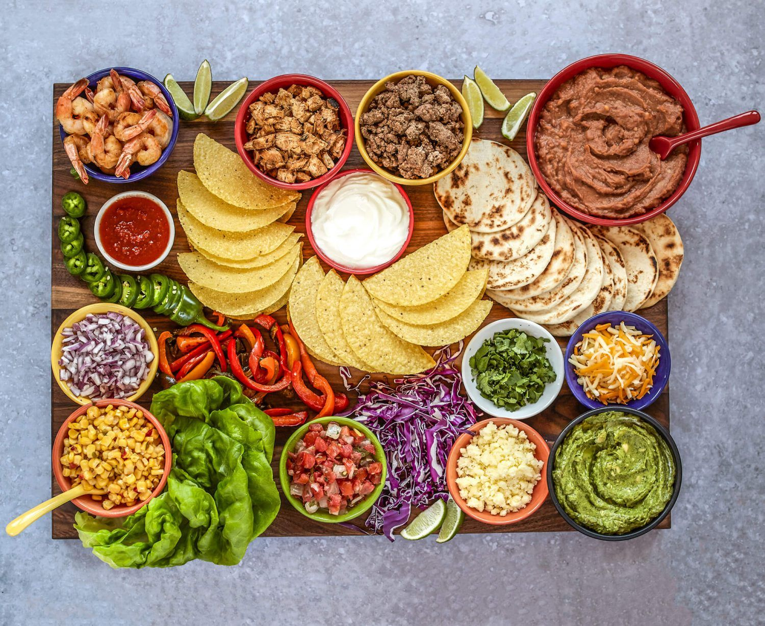 #DIY #Mexican #fiesta with this epic #taco board #recipe (and #margaritas!) - Mama Disrupt®