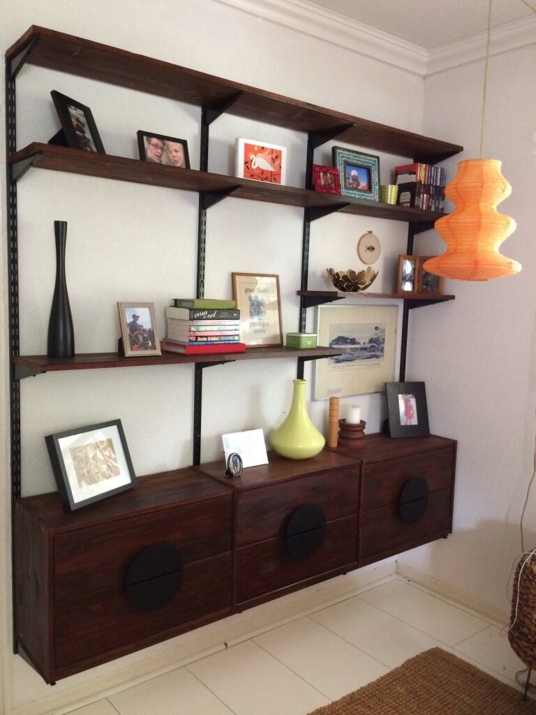 ikea modern furniture. Ikea Retro Furniture. Mid-century Modern Furniture Shelving From Rast