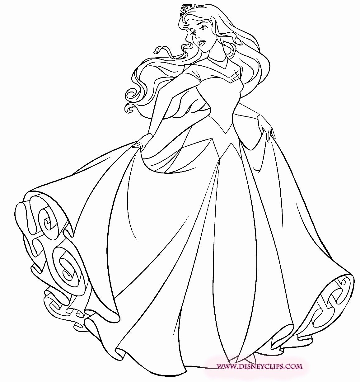 Disney Princess Aurora Coloring Pages Lovely Princess Aurora Coloring Page Disney Princess Coloring Pages Disney Princess Colors Sleeping Beauty Coloring Pages