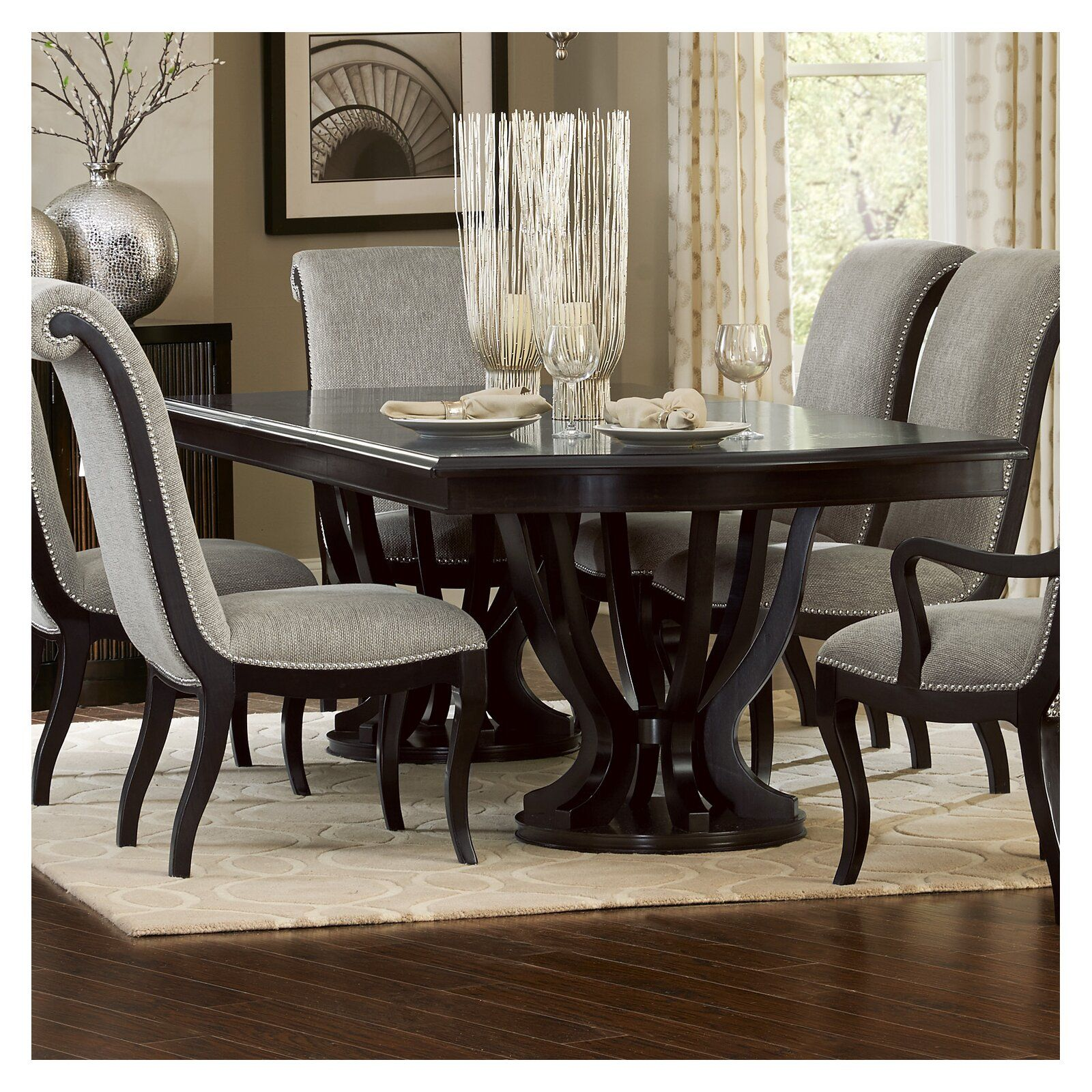 Canora Grey Baypoint Dining Table Dining Room Table Decor
