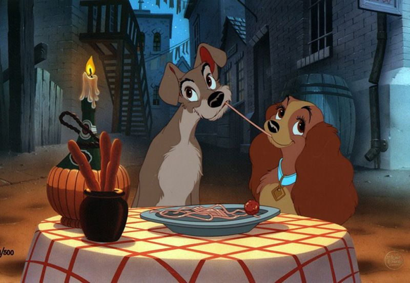 Living Lines Library Lady And The Tramp 1955 Production Cels Disney Drawings Cute Disney Wallpaper Disney Art
