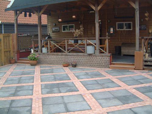 Hergebruik betontegels tuin ontwerp pinterest for Tuin ontwerpen ipad