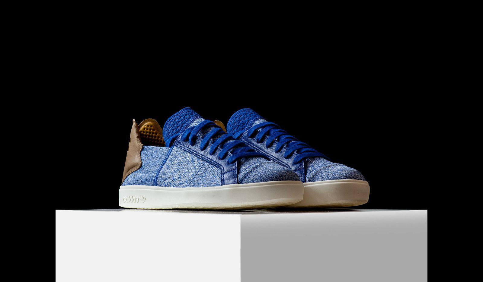online store 5908b 97b22 Adidas X Pharrell Williams Vulc Lace-Up (AQ5779)