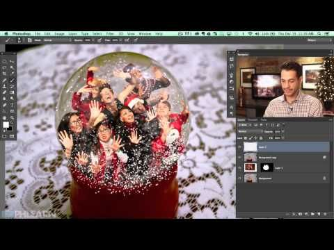 how to put a photo in photoshop