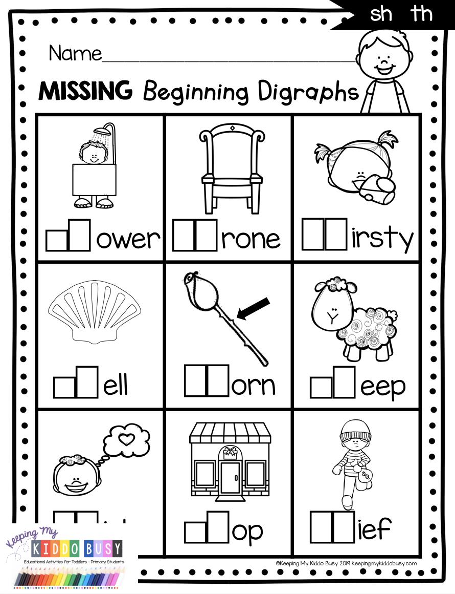 Digraphs Phonics Unit 6 Freebie Kindergarten Activities Phonics Worksheets Free Phonics Kindergarten Kindergarten Activities [ 1160 x 890 Pixel ]