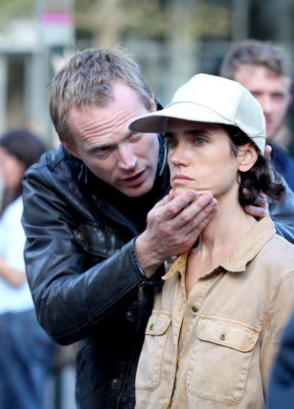 Paul Bettany Directing His Wife Jennifer Connelly In His Film Shelter Jennifer Connelly Paul Bettany Jennifer Connelly Young