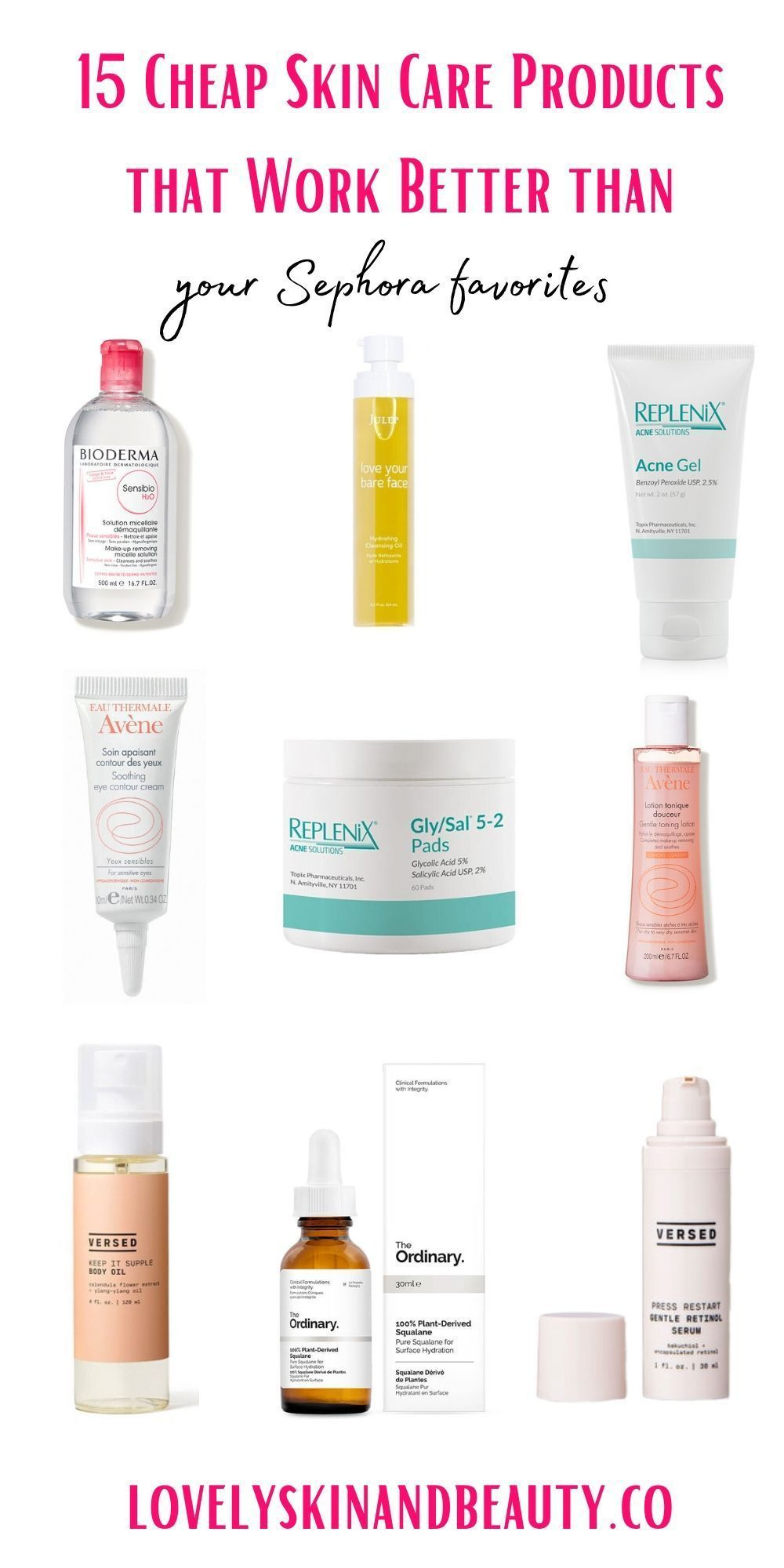 15 Cheap Skin Care Products That Work Better Than Your Sephora Favorites These Affordab In 2020 Cheap Skin Care Products Cheap Skin Care Routine Affordable Skin Care