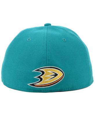 fe97c1d5c Authentic Nhl Headwear Anaheim Ducks Mighty Ducks Collection Fitted Cap -  Blue 7 1/8