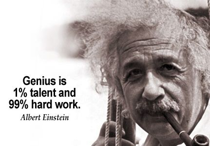 The World Best Quotes Genius Is 60% Talent And 60% Hard Work Unique Worlds Best Quotes