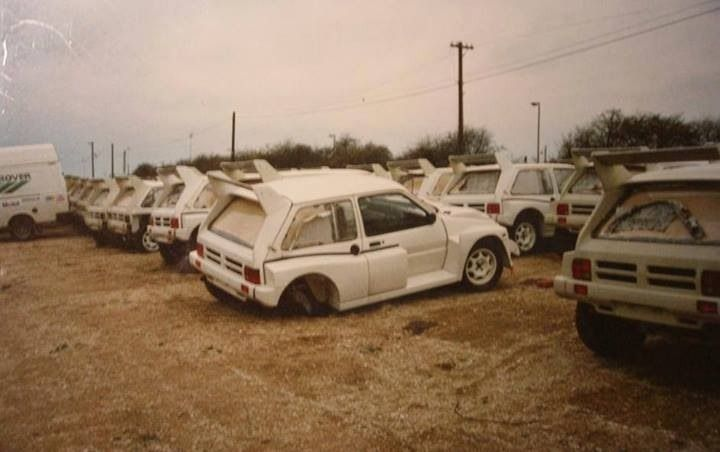 Line Of Mg Metro S Abandoned Cars Rally Car Best Luxury Cars