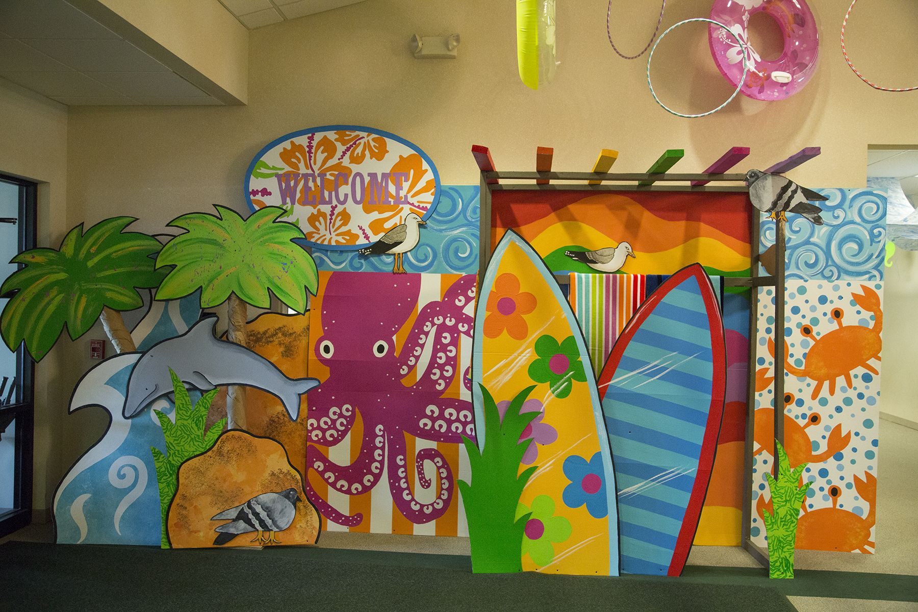 Ocean Theme Decorating Ideas Ocean Commotion Decoration Ideas For Water Themed Vbs