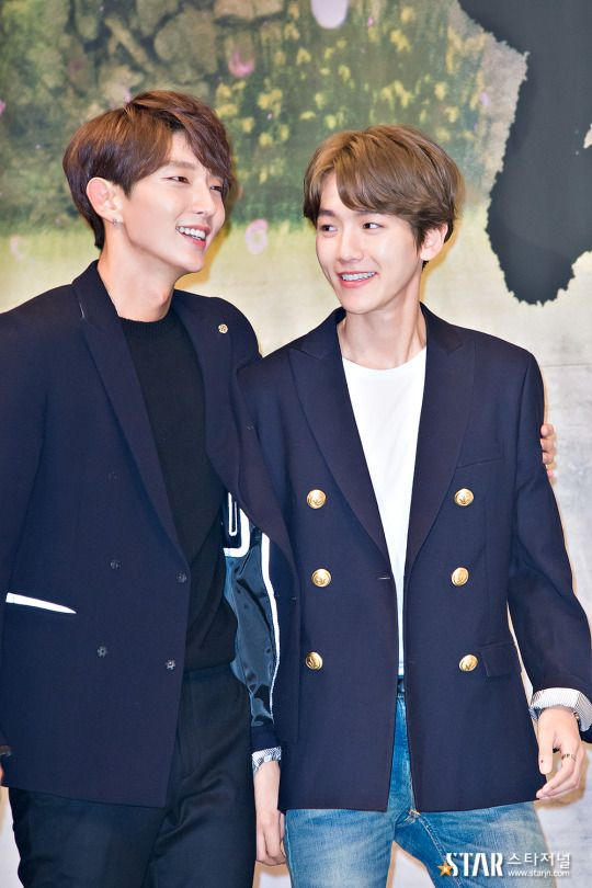 Baekhyun - 160824 'Scarlet Heart: Ryeo' press conference